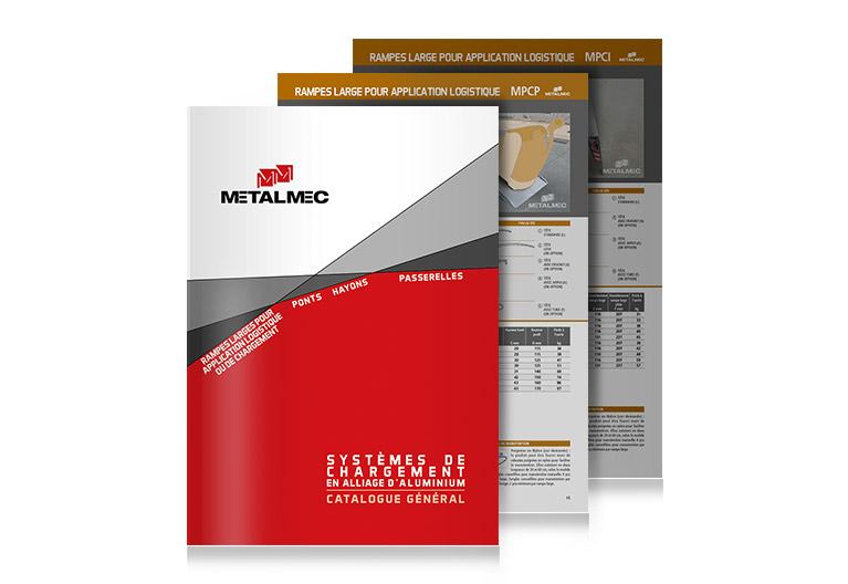 Catalogue avec pages individuelles
