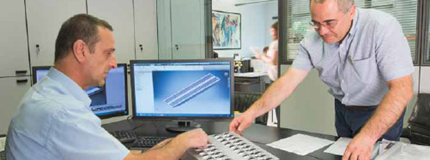 Careful analyses in the product design and prototyping stages are essential for achieving an excellent final result.