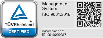 Certificazione sistema gestione qualità ISO 9001:2015